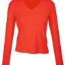 HANES V - NECK LONG SLEEVE